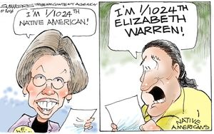 I'm 1/1024th Elizabeth Warren!