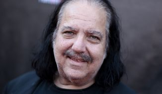 "Ron Jeremy arrives at the LA Premiere of ""Lord of the Freaks"" on Monday, June 29, 2015, in Los Angeles. (Photo by Richard Shotwell/Invision/AP)"