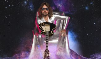 """This cover image released by Entertainment One shows """"Spaceman,"""" a release by Ace Frehley. (Entertainment One via AP)"""
