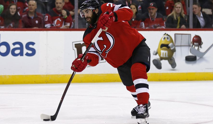 low priced a415f ece07 Palmieri scores 7th goal, Kinkaid has 24 saves, Devils win ...