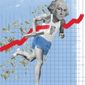 Illustration on economic security by Linas Garsys/The Washington Times