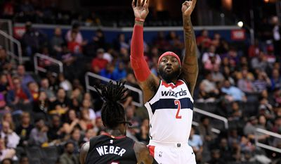 Wizards guard John Wall said that this is the deepest team he's been on since arriving in Washington. He's also healthy after missing 41 games last season. (ASSOCIATED PRESS)