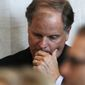 """I will continue to be an independent voice for Alabama who cares more about the issues that unite us than those that divide us,"" said Sen. Doug Jones. (Associated Press)"
