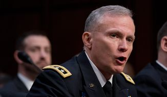 Robert P. Ashley, director of the Defense Intelligence Agency, said at a conference this month that China wants to be the main driver of artificial intelligence for various uses, including warfighting capabilities. (Associated Press) **FILE**