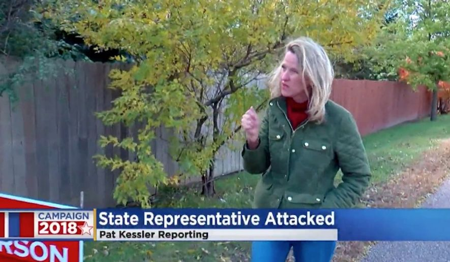 Minnesota state Rep. Sarah Anderson is the second Minnesota Republican to report being attacked in recent days. (WCCO)