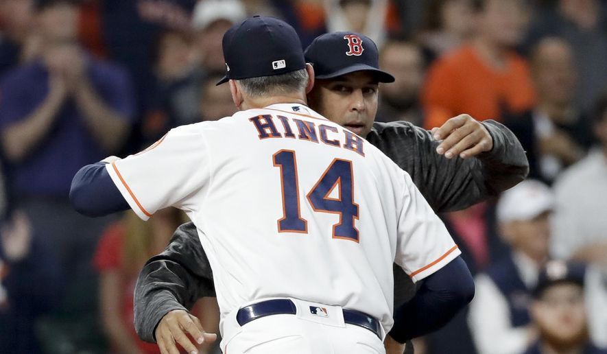 2e0a433ccbc6a The Latest  Hinch  Sign-stealing  bigger than 1 team or 2 ...