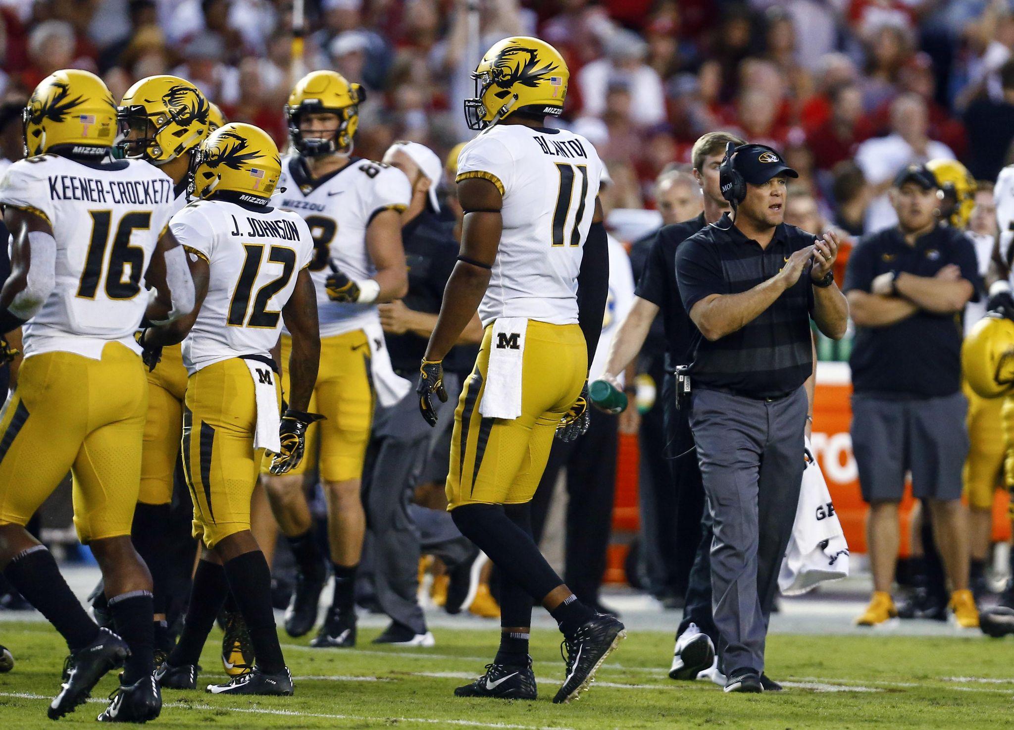 Missouri needs rebound victory in midst of losing streak - Washington Times
