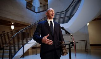 Carter Page has filed a defamation lawsuit against the Democratic National Committee and a law firm that will reveal the truth about the Russia dossier. (Associated Press/File)
