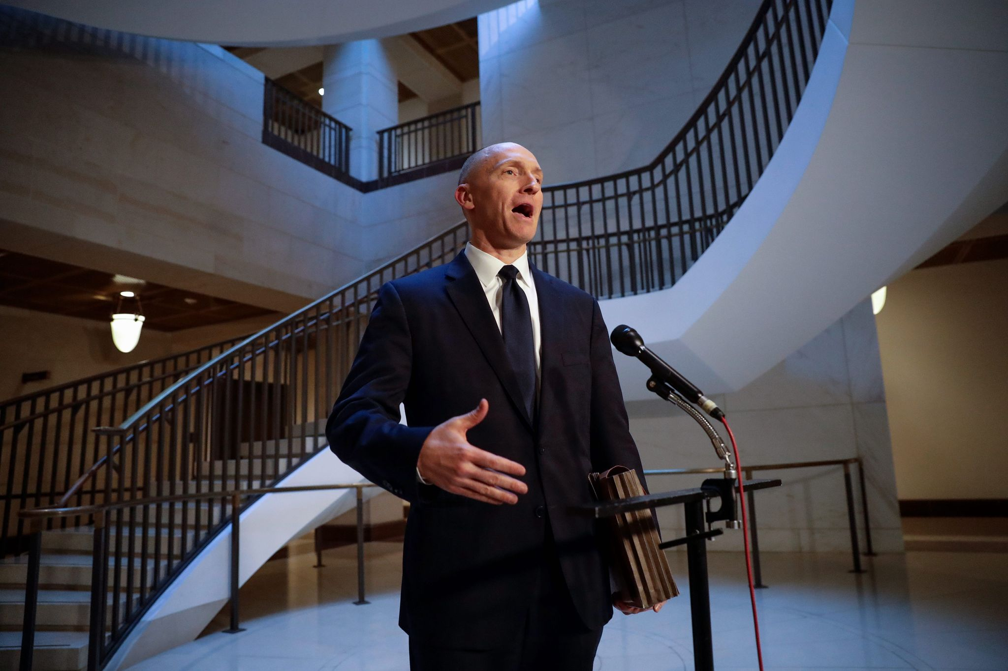 Carter Page's quest for the truth