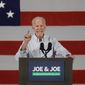 """""""I'm very worried that the president seems to have a love affair with autocrats,"""" said former Vice President Joseph R. Biden in an interview on CBS. (Associated Press)"""