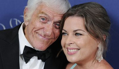 Dick Van Dyke, born 1925 and Arlene Silver, born 1971, Age Difference: 46 years                             Prince Rainier III Award recipient Dick Van Dyke and his wife Arlene Silver pose together at the 2014 Princess Grace Awards Gala at the Beverly Wilshire Hotel on Wednesday, Oct. 8, 2014, in Beverly Hills, Calif. (Photo by Chris Pizzello/Invision/AP)