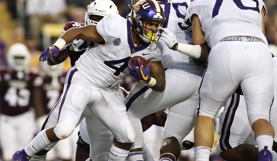 Defense leads No  5 LSU past No  22 MSU, 19-3 - Washington Times