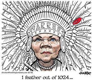 1 feather out of 1024 ...