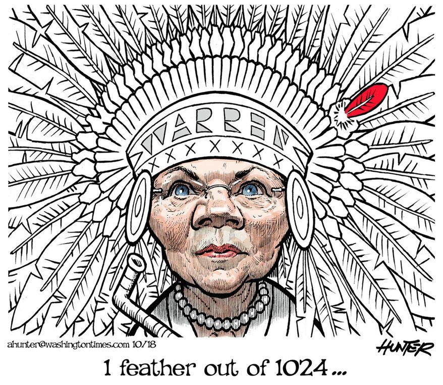 Illustration by Alexander Hunter for The Washington Times (published October 21, 2018)
