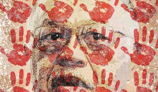 Kermit Gosnell Illustration by Greg Groesch/The Washington Times