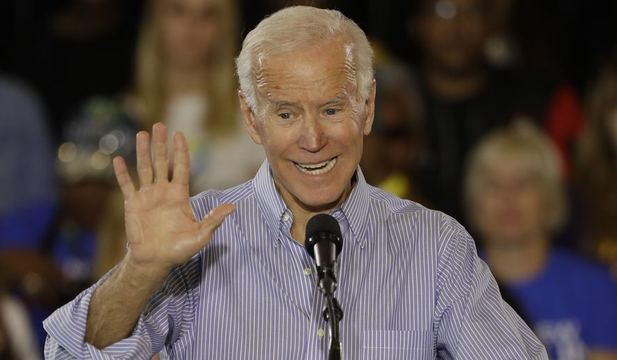 "Former Vice President Joseph R. Biden, 75, said, ""I think it's totally appropriate for people to look at me and say, if I were to run for office again, 'Well God darn, you're old.' Well chronologically, I am old."""