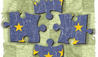 Save the European Union Illustration by Greg Groesch/The Washington Times