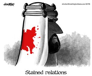 Stained relations