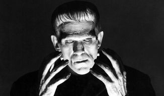 "Boris Karloff in the 1931 Universal Pictures film "" Frankenstein."" (Courtesy of Universal Pictures)"