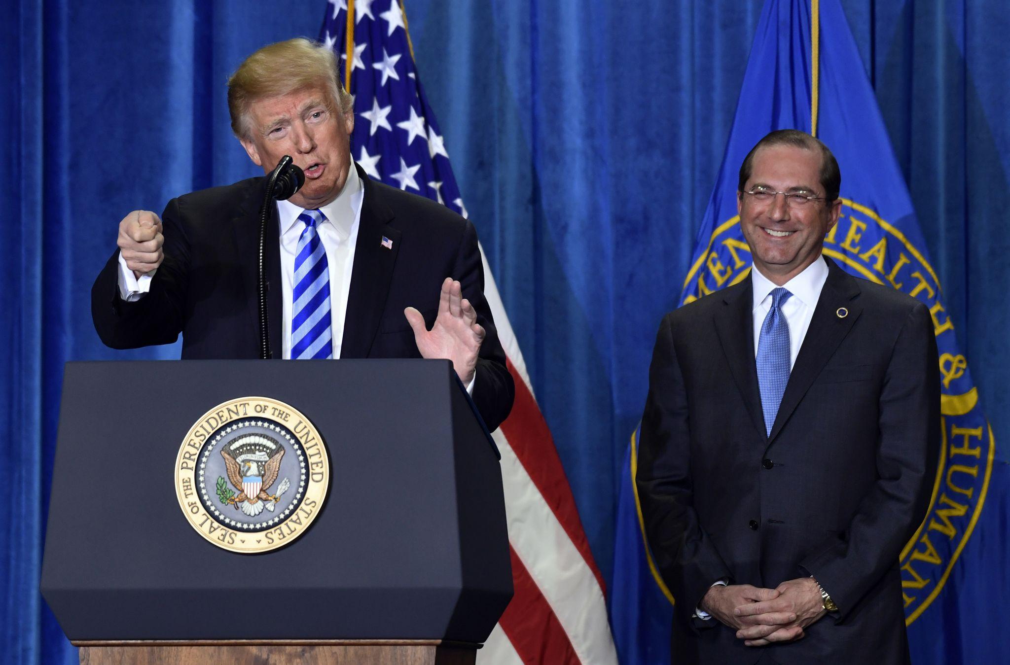 HHS Secretary Alex Azar: Trump's moves are 'ultimate nightmare' for Big Pharma