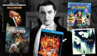 """""""Universal Classic Monsters,"""" starring Dracula, """"Halloween,"""" """"Creepshow: Collector's Edition,"""" """"Trick 'r' Treat: Collector's Edition,"""" """"Hotel Transylvania 3: Summer Vacation, Monster Party Edition"""" and """"Twilight."""""""