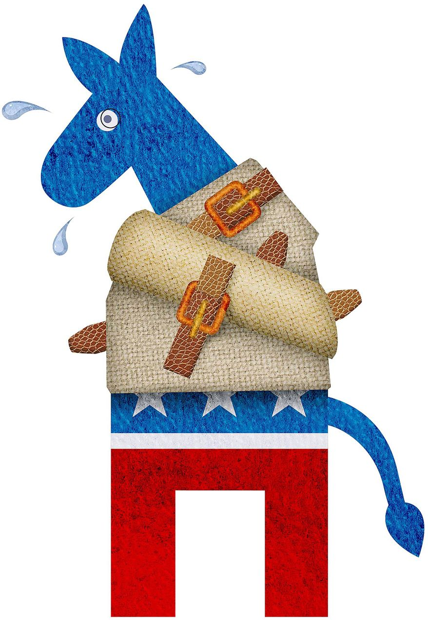 Driving the Democrats Crazy Illustration by Greg Groesch/The Washington Times