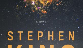 "This cover image released by Scribner shows ""Elevation,"" a novel by Stephen King. (Scribner via AP)"