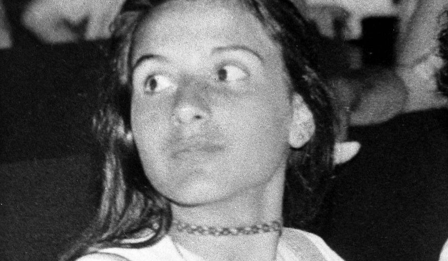 Undated picture of Italian teenager Emanuela Orlandi, the daughter of a Vatican employee, believed to have been kidnapped after a music lesson in Rome on June 22, 1983 when she was 15-years-old. (Associated Press)
