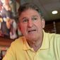 Sen. Joe Manchin III is the only choice for liberals in the Mountain State despite some of the Democrat's conservative votes. (Associated Press photo)