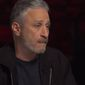 Comedian Jon Stewart discusses the Trump administration with CNN's Christiane Amanpour for an Oct. 30, 2018 interview. (Image: CNN screenshot)