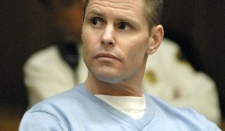 """In this April 14, 2009 photo, Fotios """"Freddy"""" Geas appears for a court proceeding in his defense in the Al Bruno murder case, in Springfield, Mass. Geas and at least one other inmate are being investigated as suspects in the slaying of former Boston crime boss James """"Whitey"""" Bulger, who was killed behind bars on Tuesday, Oct. 30, 2018, less than 24 hours after being transferred to a federal prison in West Virginia, according to a former investigator briefed on the matter. (Don Treeger /The Republican via AP)"""