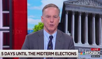 "Howard Dean, former chairman of the DNC, discusses the midterm elections on MSNBC's ""Morning Joe,"" Nov. 1, 2018. (Image: MSNBC screenshot)"