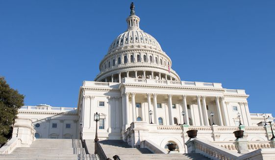 United States Capitol building (Shutterstock)
