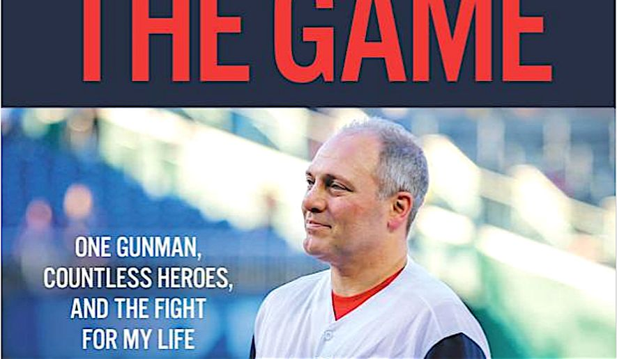 House Majority Whip Steve Scalise has written a book detailing his experience being shot at a congressional baseball practice, and the recovery process. (Center Street Books/Hachette Book Group)
