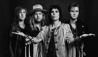 The Struts band (Photo courtesy of The Struts by Anna Lee)