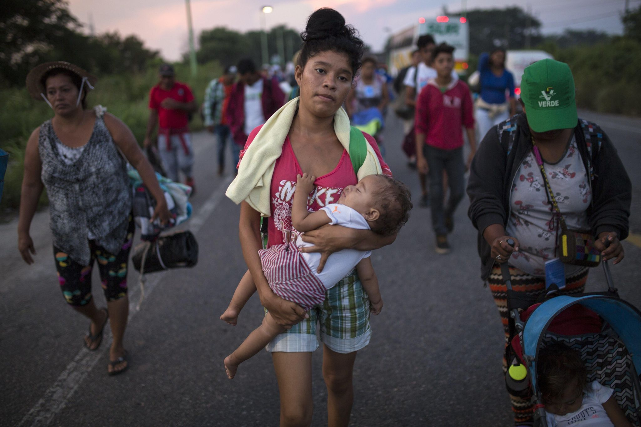 Third migrant caravan enters Mexico, heads for U.S. border