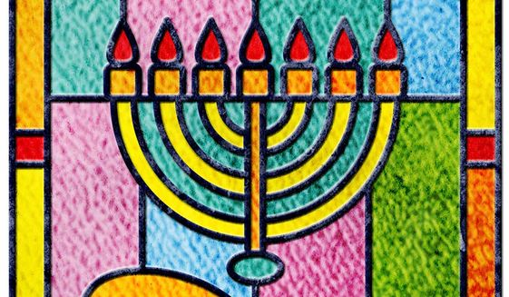 Synagogue Stained Glass Illustration by Greg Groesch/The Washington Times