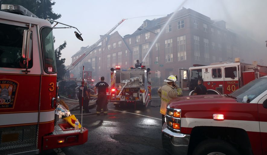 The D.C. Fire and EMS Department has long struggled with failing brakes and broken ladders in its aging fleet of engines, trucks, ambulances and rescue squad vehicles. (Associated Press/File)