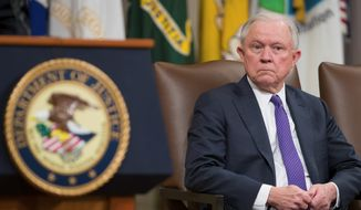 Attorney General Jeff Sessions is likely to be the highest-profile job on the line if President Trump shakes up his Cabinet after Election Day. (Associated Press)