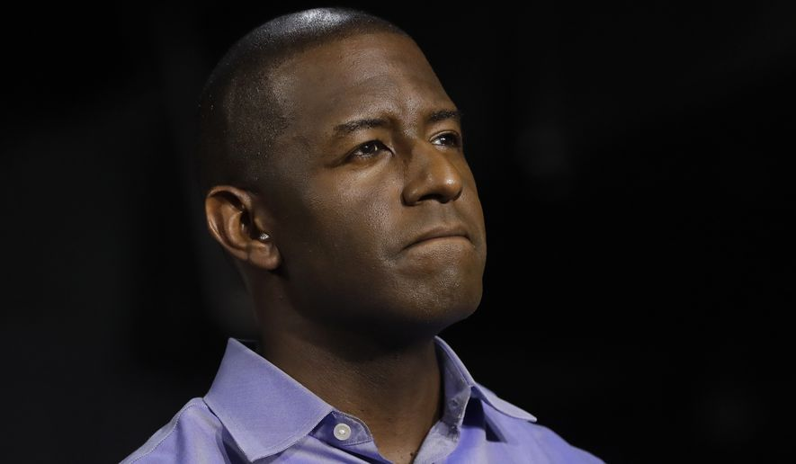 The last 10 polls had pegged Democratic Tallahassee Mayor Andrew Gillum as the winner in the Florida governor's race. (Associated Press)