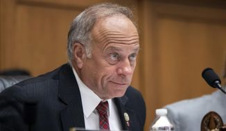 This June 8, 2018, file photo shows Rep. Steve King, R-Iowa, at a hearing on Capitol Hill in Washington. (AP Photo/J. Scott Applewhite, File)