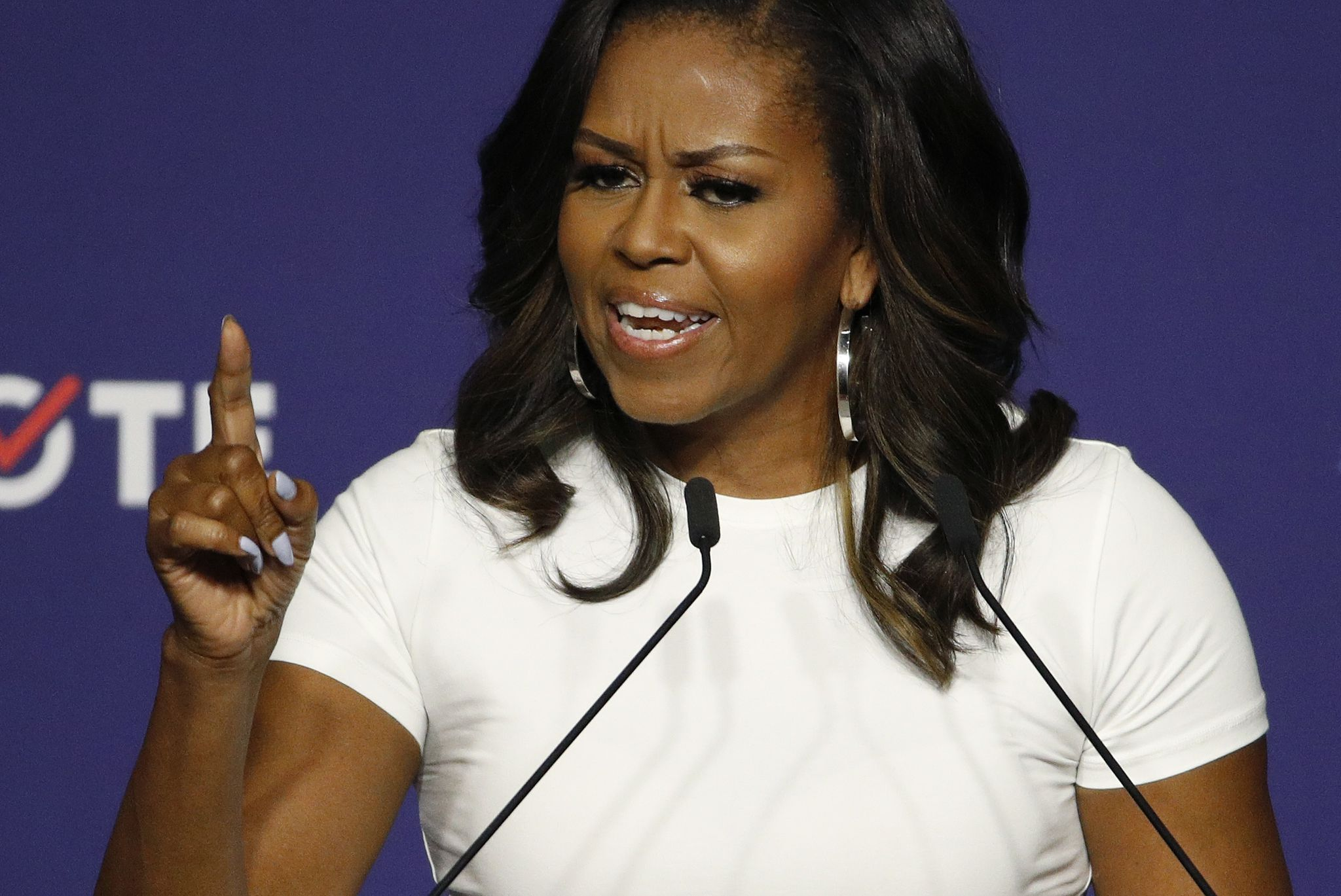 Michelle Obama rips Donald Trump in book 'Becoming'