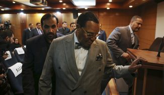 "Minister Louis Farrakhan, the leader of the Nation of Islam, arrives to his press conference in Tehran, Iran, Thursday, Nov. 8, 2018. Farrakhan warned President Donald Trump not to pull ""the trigger of war in the Middle East, at the insistence of Israel."" The 85-year-old Farrakhan, long known for provocative comments widely considered anti-Semitic, criticized the economic sanctions leveled by Trump against Iran after his pullout from the nuclear deal. (AP Photo/Vahid Salemi)"