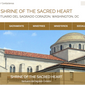 Screen capture from the website for the Shrine of the Sacred Heart parish church in Washington, D.C. On Nov. 7, 2018, the Metropolitan Police arrested Rev. Urbano Vazquez, who served as parochial vicar at Sacred Heart, on charges of second-degree child sexual abuse.