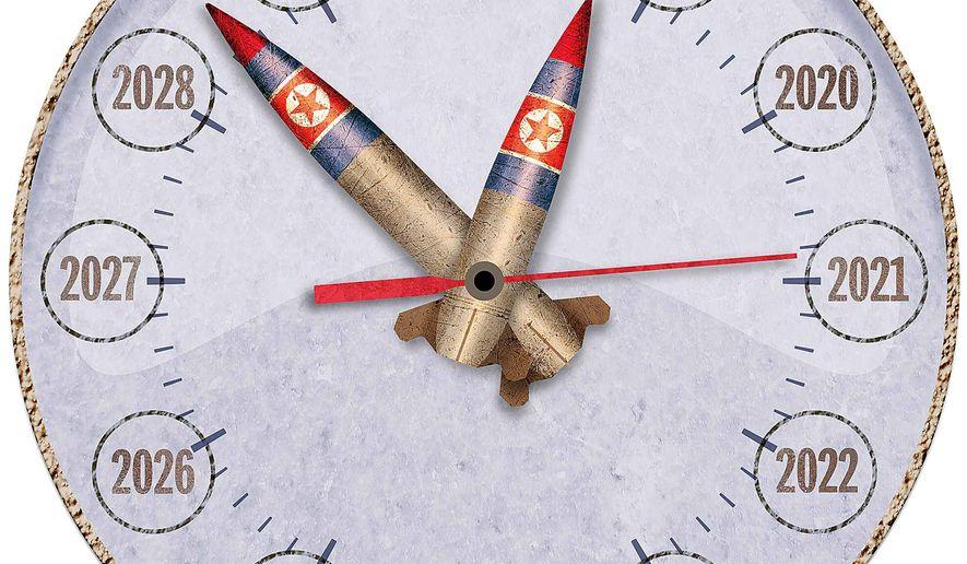 Korea Missile Timeline Illustration by Greg Groesch/The Washington Times