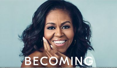 "Michell Obama's book ""Becoming"" will be released Tuesday, to be followed by an international tour, and translations in 30 languages. (Penguin Random House/Crown Publishing Group)"