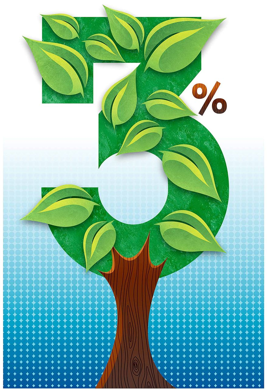 Sustained Three Percent Growth Illustration by Greg Groesch/The Washington Times