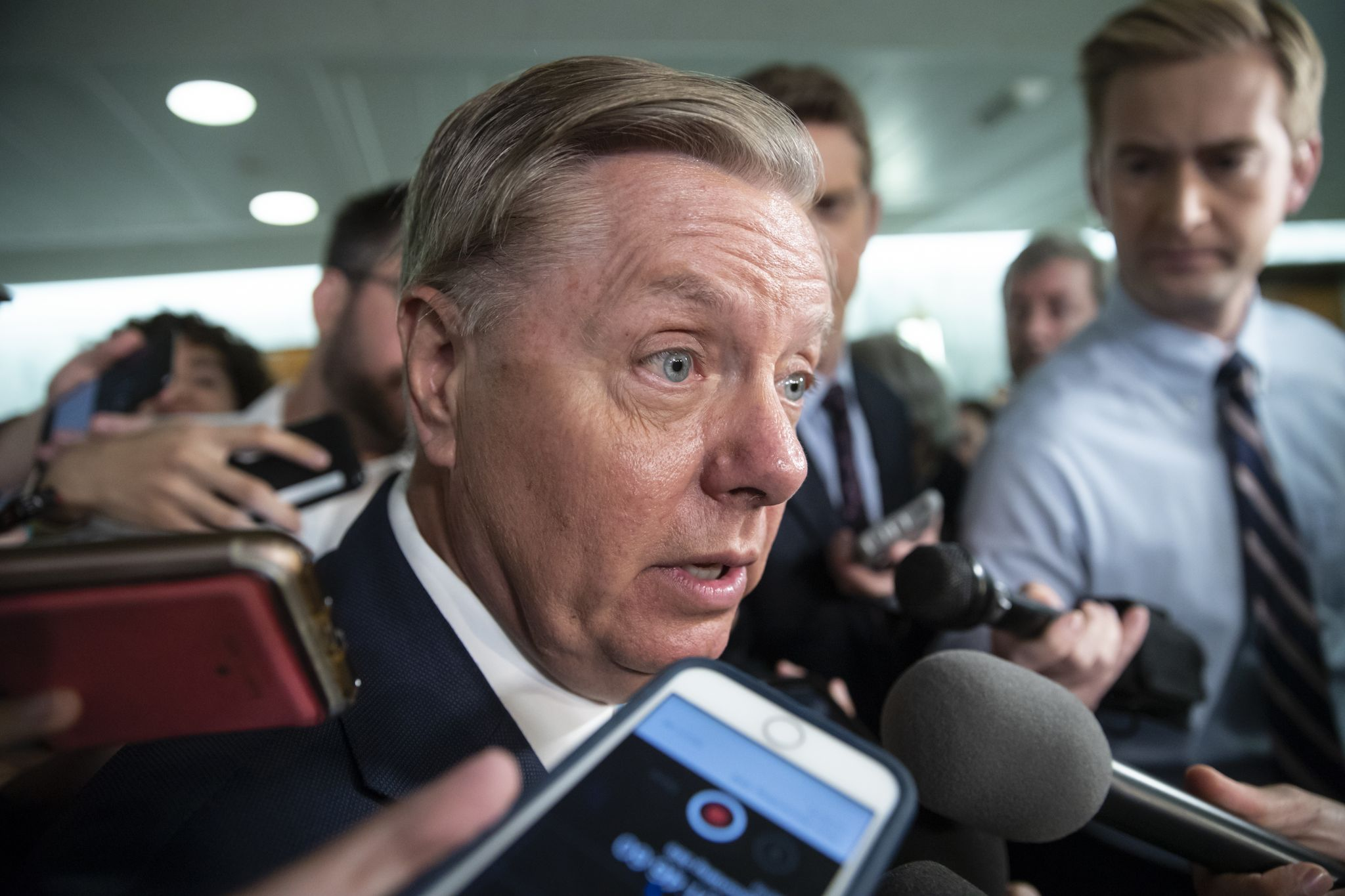 Lindsey Graham calls out GOP leaders, demands prison reform vote