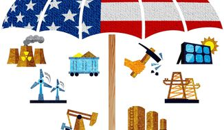 Protecting American Energy Illustration by Greg Groesch/The Washington Times