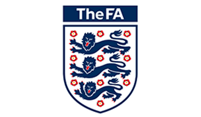 The logo for the English Football Association.